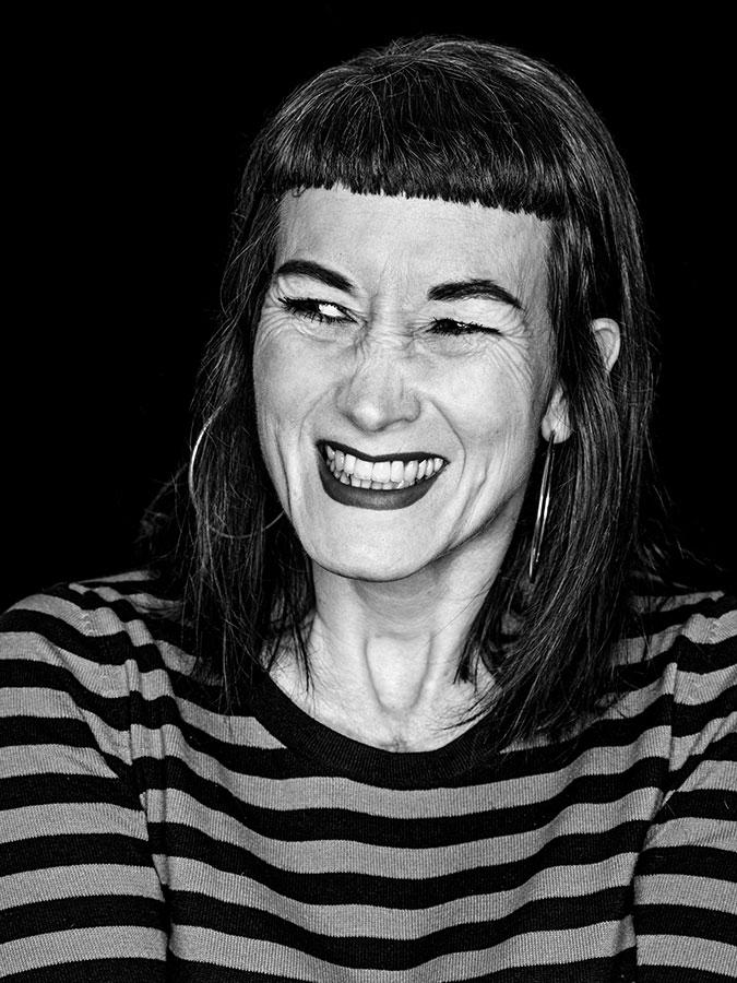 Anuschka Dreikandt – Faces of St. Pauli - eine Portrait-Reihe in Schwarz-Weiss