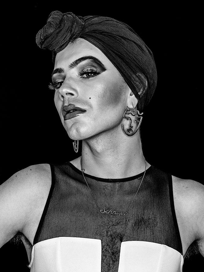 Geraldine Schabraque – Faces of St. Pauli - eine Portrait-Reihe in Schwarz-Weiss