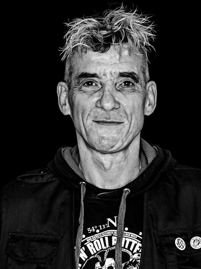Faces of St. Pauli - eine Portrait-Reihe in Schwarz-Weiss