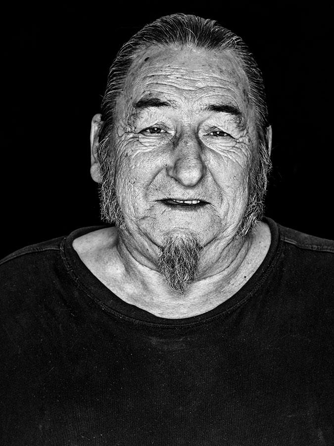 Herbert von Balen – Faces of St. Pauli - eine Portrait-Reihe in Schwarz-Weiss
