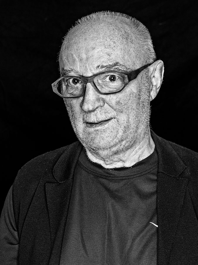 Horst Schleich – Crazy Horst Faces of St. Pauli - eine Portrait-Reihe in Schwarz-Weiss