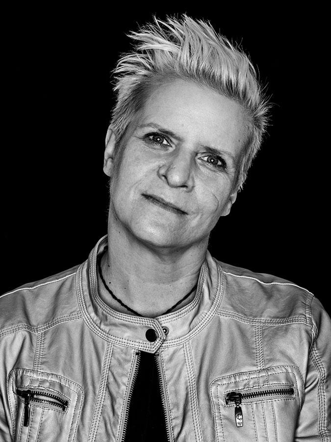 Julia Staron – Faces of St. Pauli - eine Portrait-Reihe in Schwarz-Weiss