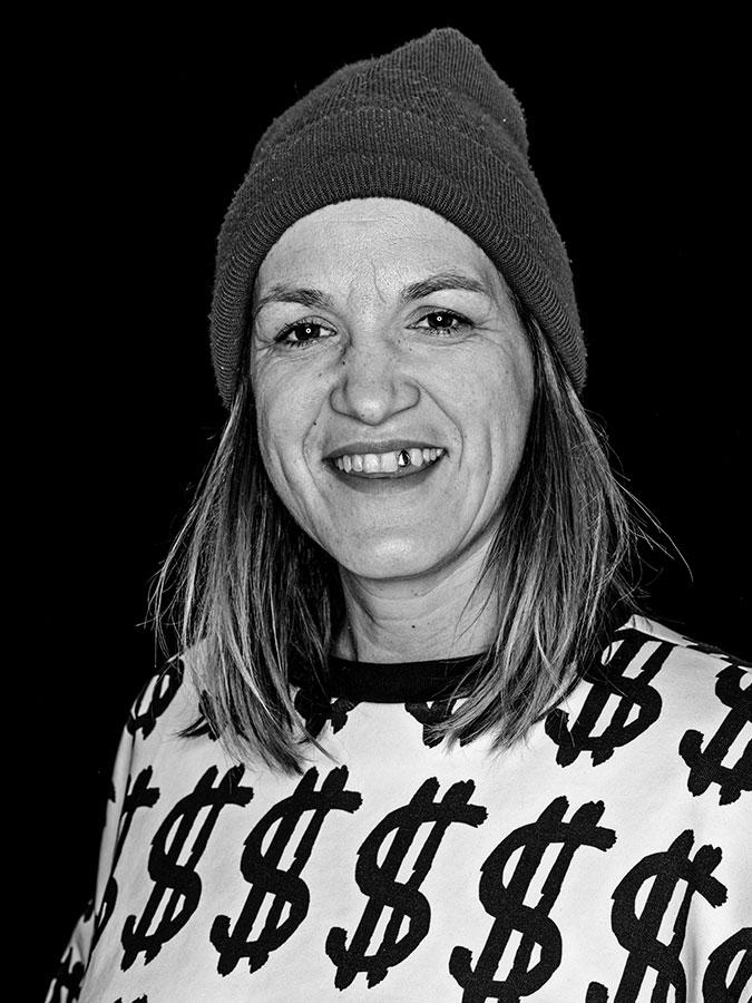 Kerstin Rose – Faces of St. Pauli - eine Portrait-Reihe in Schwarz-Weiss