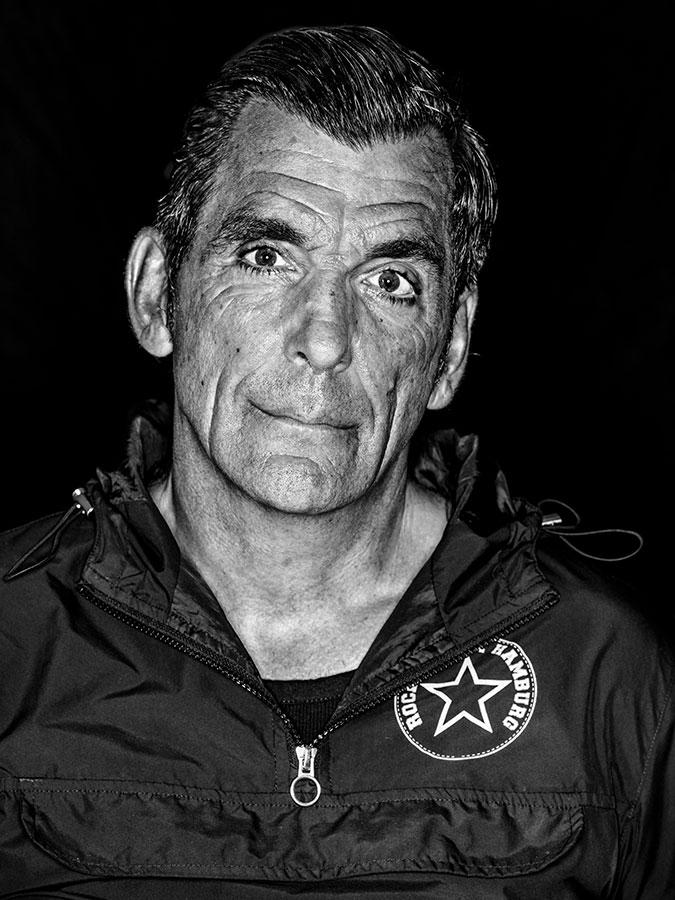 Lars Vegas Ide – Faces of St. Pauli - eine Portrait-Reihe in Schwarz-Weiss