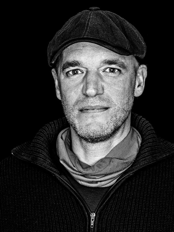 Nico N. Faces of St. Pauli - eine Portrait-Reihe in Schwarz-Weiss