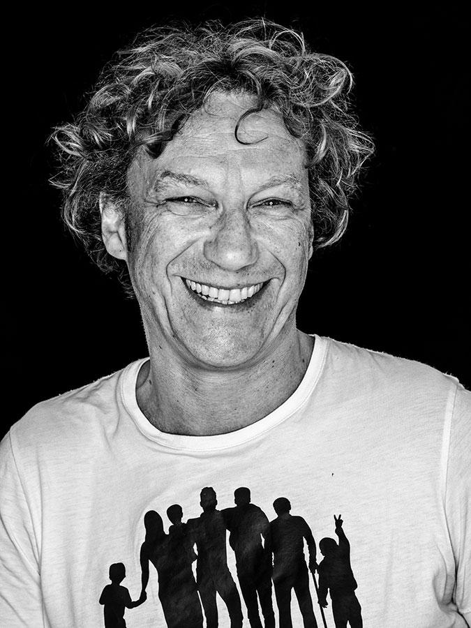 Niels Boeing – Journalist und St. Pauli Aktivist Faces of St. Pauli - eine Portrait-Reihe in Schwarz-Weiss