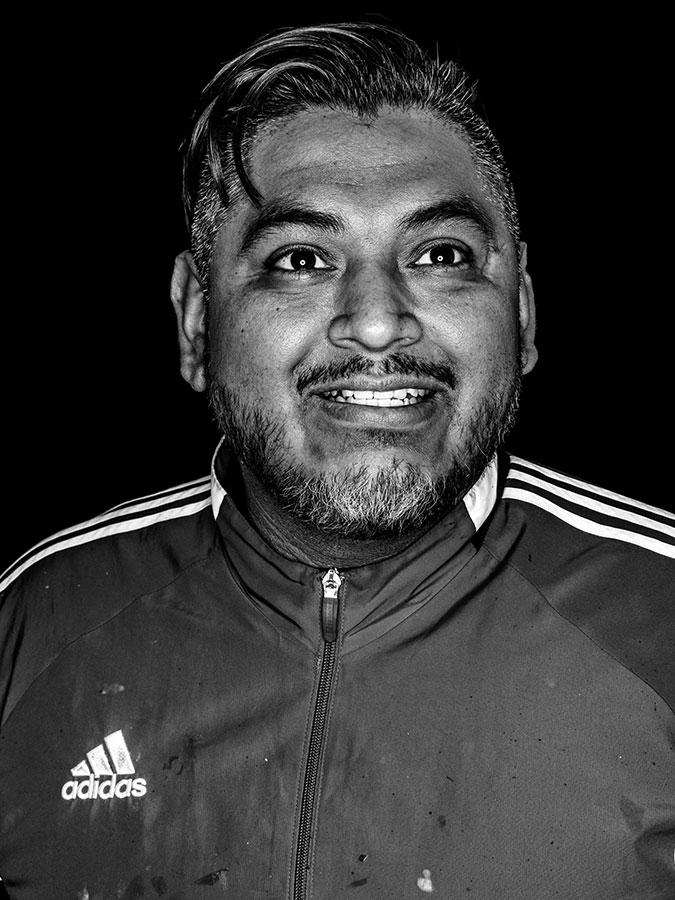 Ray de la Cruz – Kiez-Sprayer Faces of St. Pauli - eine Portrait-Reihe in Schwarz-Weiss