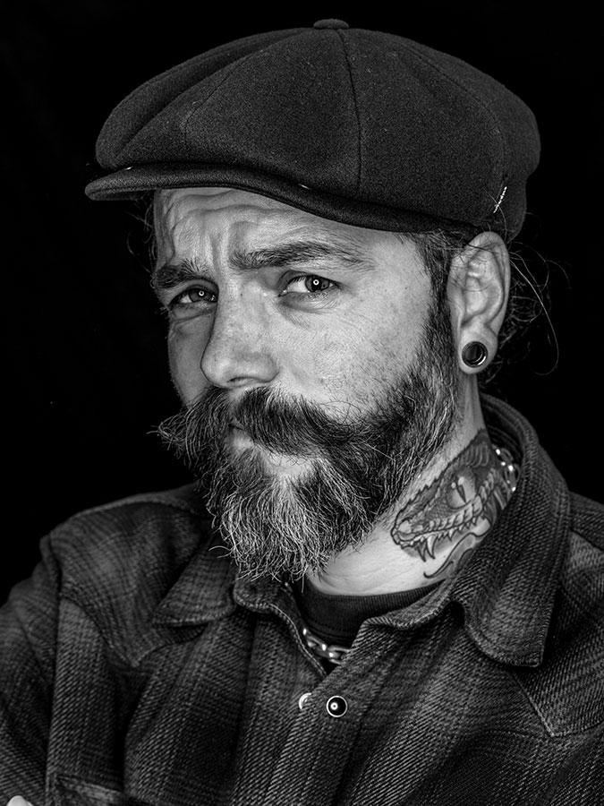 Steffen Rabe – Faces of St. Pauli - eine Portrait-Reihe in Schwarz-Weiss