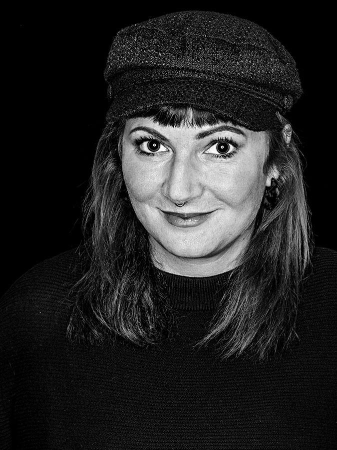 Faces of St. Pauli - eine Portrait-Reihe vin Schwarz-Weiss Kiez-Bloggerin