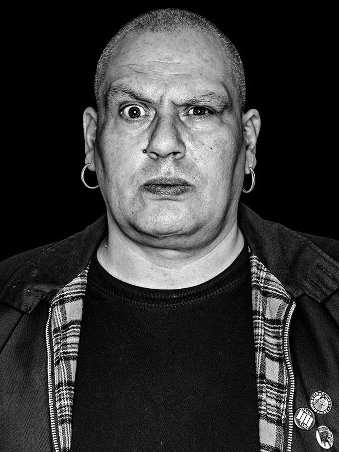 Faces of St. Pauli - eine Portrait-Reihe in Schwarz-Weiss Tortuga-Tresenmann