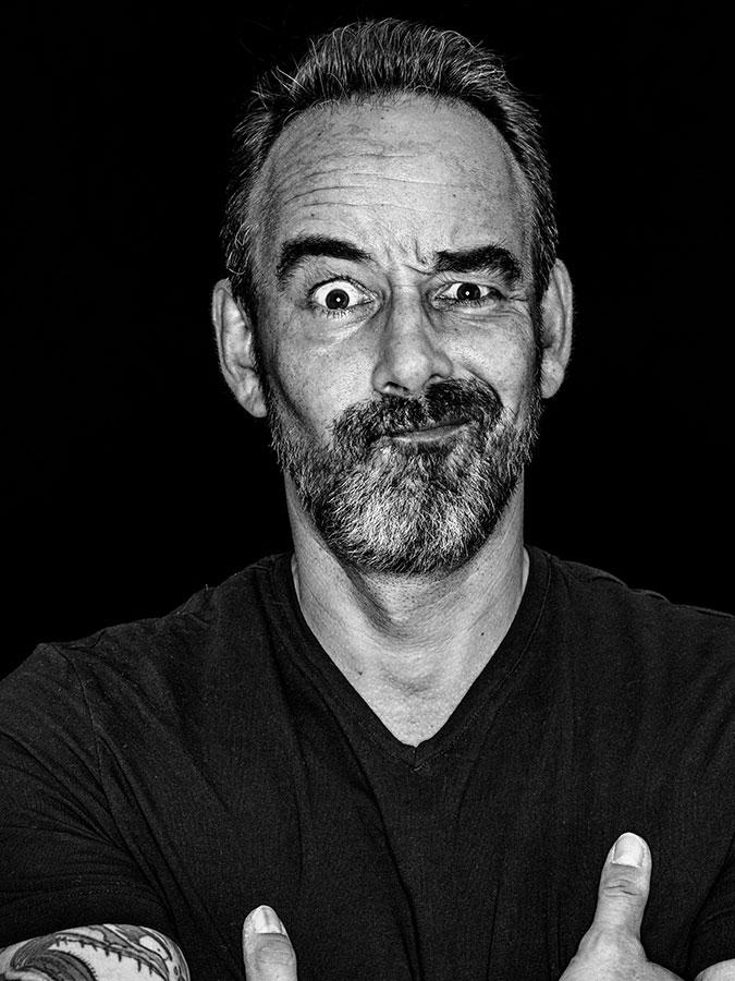 Viktor Hacker – Faces of St. Pauli - eine Portrait-Reihe in Schwarz-Weiss