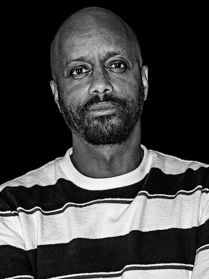 Yared Dibaba Faces of St. Pauli - eine Portrait-Reihe in Schwarz-Weiss