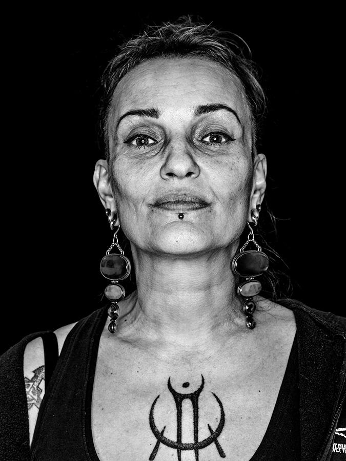 Faces of St. Pauli - eine Portrait-Reihe in Schwarz-Weiss Caro Lotte Wild