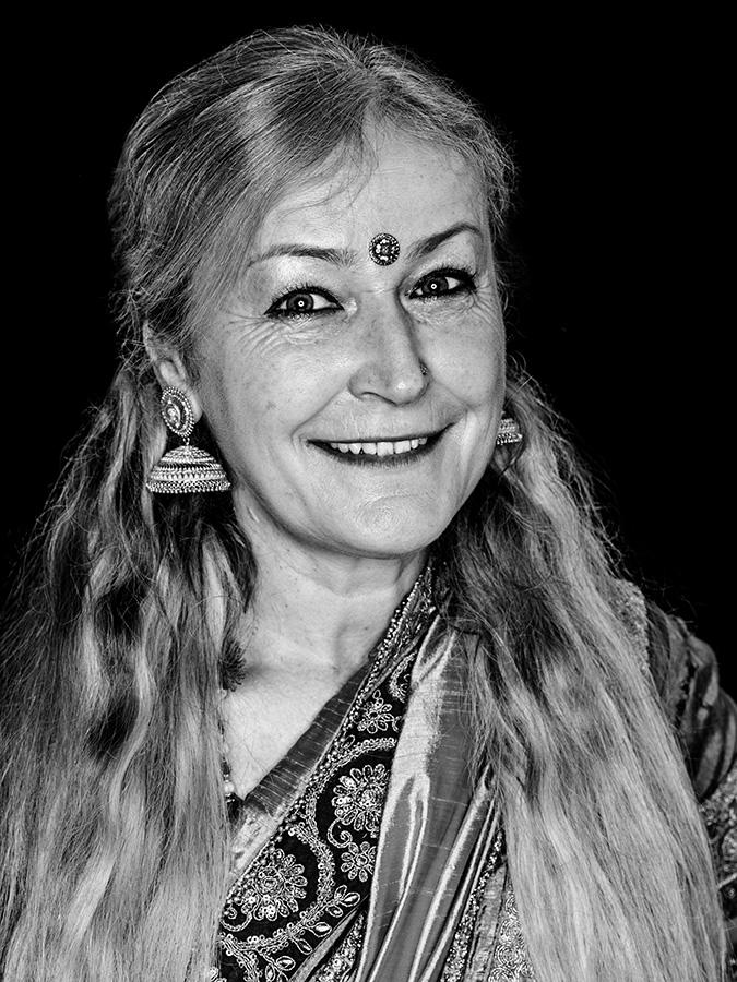 Kathrin Guthmann – Maharani Faces of St. Pauli - eine Portrait-Reihe in Schwarz-Weiss