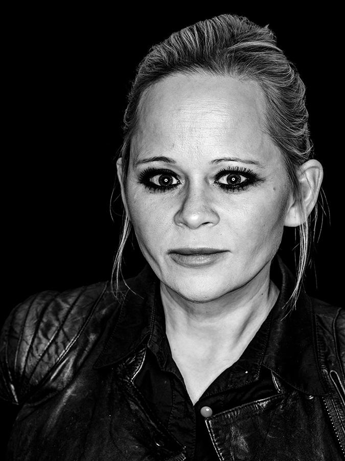 Anna Genger – Sexpertin Faces of St. Pauli - eine Portrait-Reihe in Schwarz-Weiss