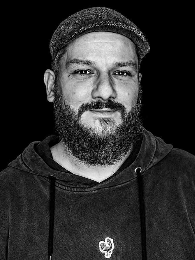 Dominik Großefeld Faces of St. Pauli - eine Portrait-Reihe in Schwarz-Weiss